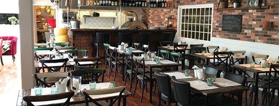 Bakken Restaurant Al dente lokaler