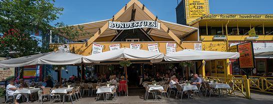 Bakken Restaurant Bondestuen Facade