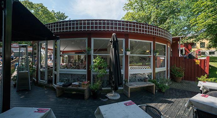 Bakken Restaurant Røde Port Terrasse
