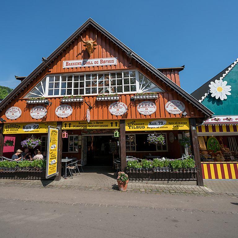 Bakken Restaurant Bakkens Bøf Grill Facade