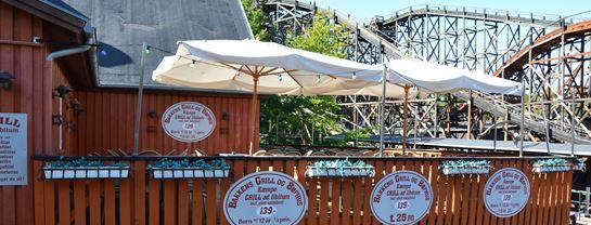 Bakken Restaurant Bakkens Bøf Grill Terrasse