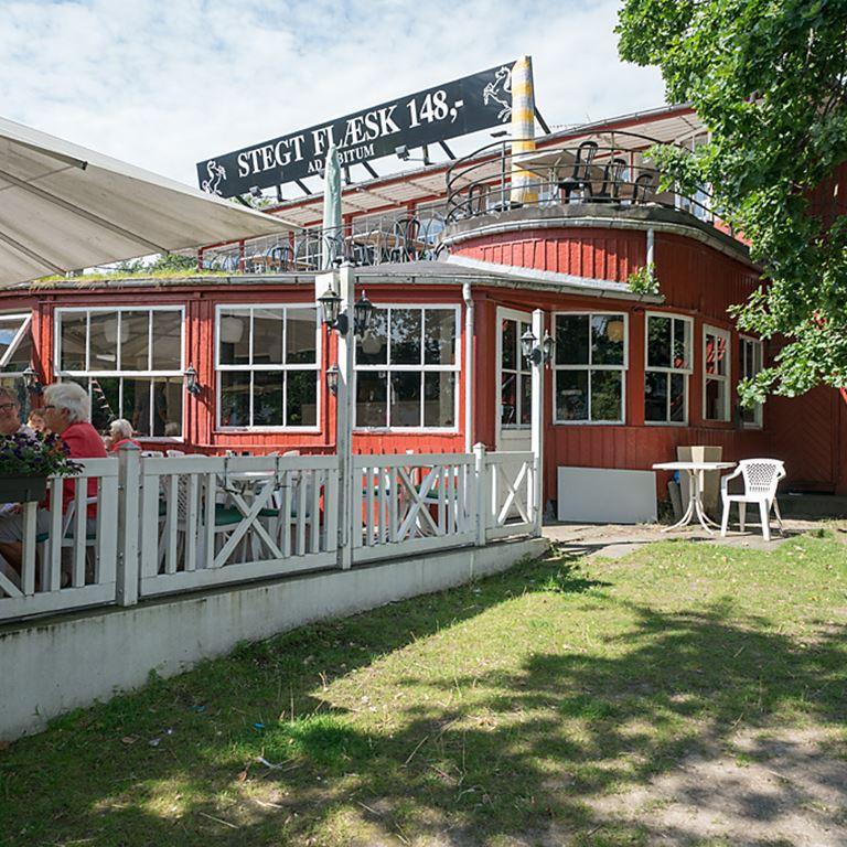 Bakken Restaurant Hvide Hest Facade