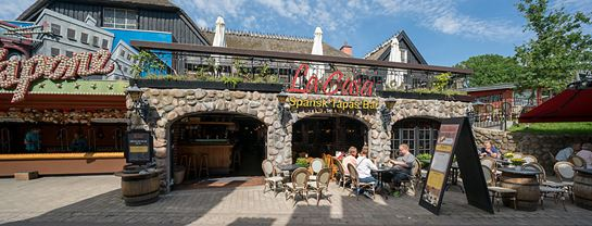 Bakken Restaurant La Casa Facade