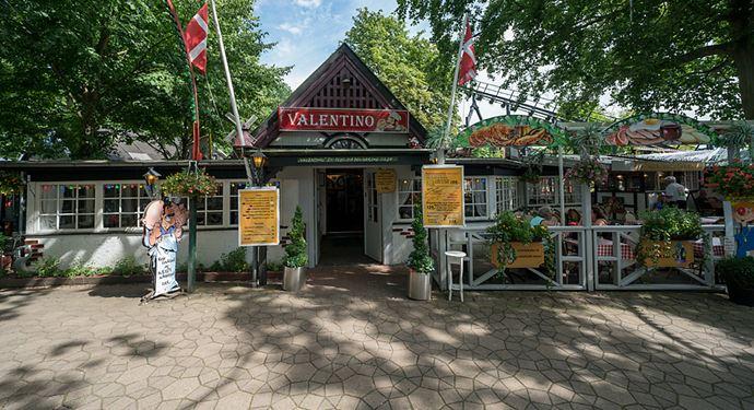Bakken Restaurant Valentino Facade