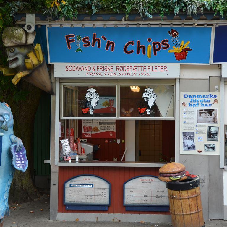 Bakken Cafe is fastfood fishn chips Facade