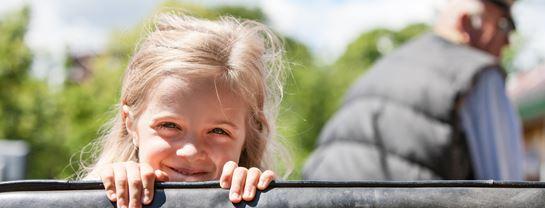 Bakken Dyrehaven Kapervogn Unge Stemning Hestevongstur