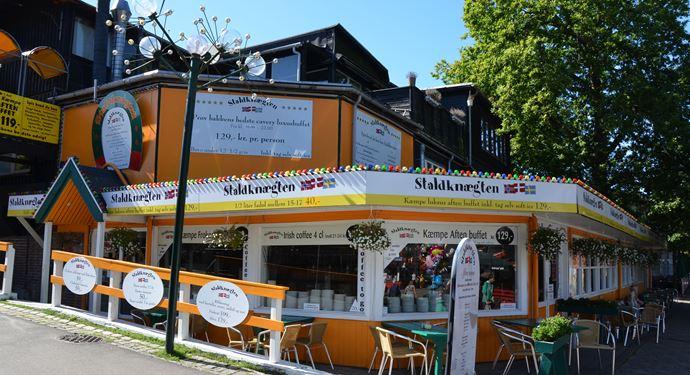 Bakken Restaurant Staldknægten Facade