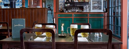 Bakken Korsbaek Jernbane Restauranten Senior Spisning Bestil Bord