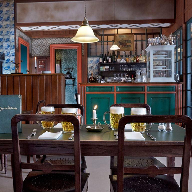 Jernbane Restauranten bar