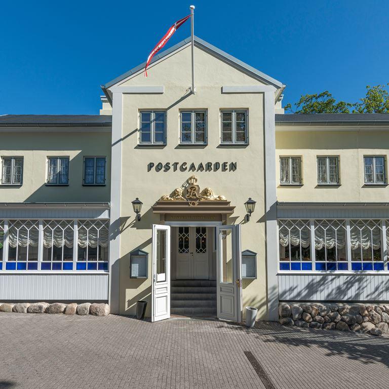 Postgaarden i Korsbæk på Bakken