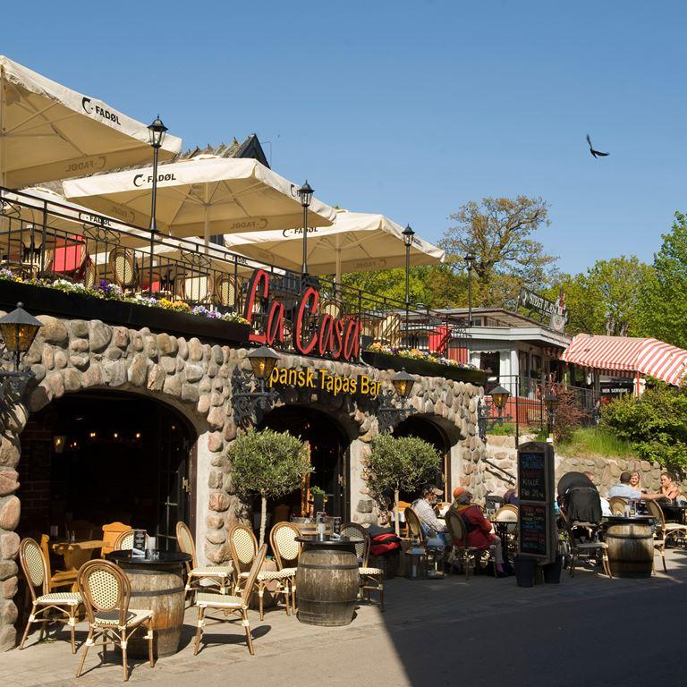 Bakken Restaurant La Casa Facade Middag