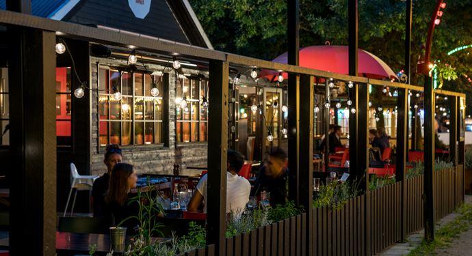 Bakken Restaurant I Lae Facade Aften