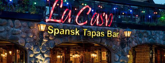 Bakken Restaurant La Casa Voksen Aften Vin
