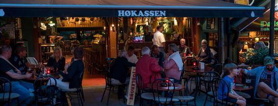 Bakken Pub bar Hoekassen Gruppe Voksen Aften