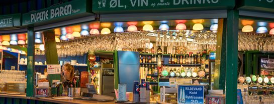 Bakken Pub bar Plaenebaren Face Aften