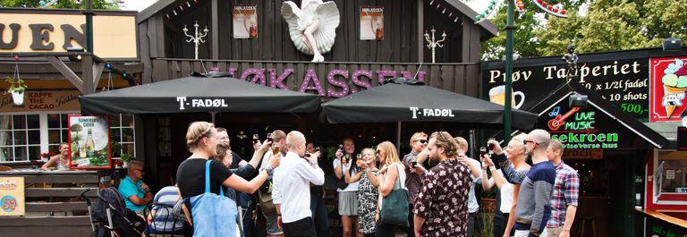 Bakken Pub Bar Hoekassen Gruppe Voksen Stemning Øltour