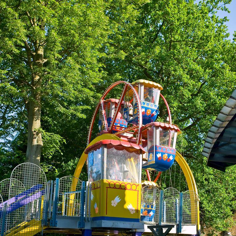 Bakkens børnepariserhjul - en rolig upplevelse för barn
