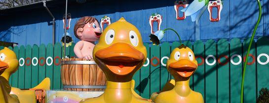 Bakken Boerneforlystelse Dizzy Ducks Sjov for boern