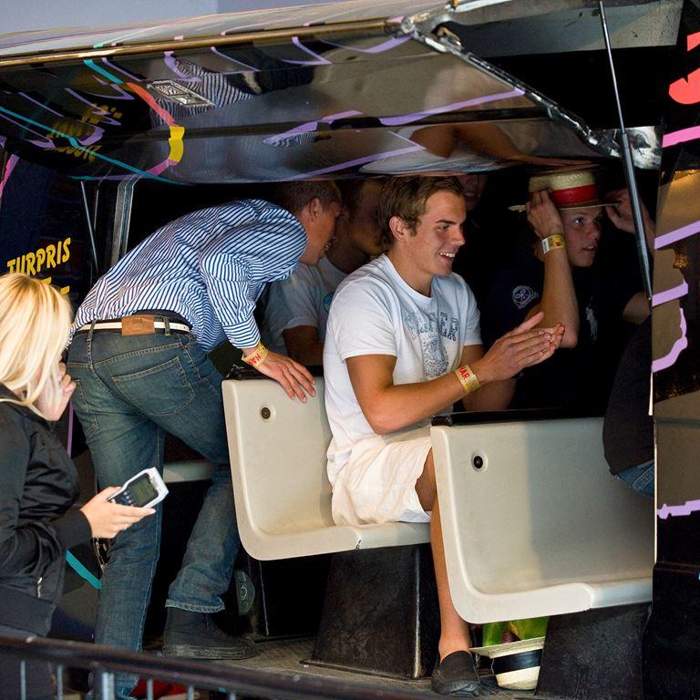 Simulator SRV på Bakken er en vild og sjov oplevelse for dem, der er frygtløse!