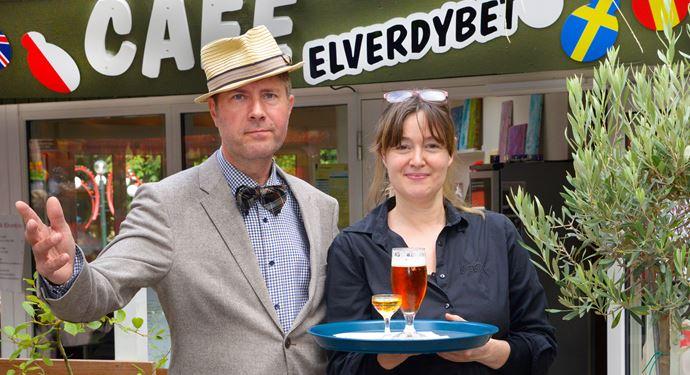 Bakken Cafe Is Fastfood Elverdybet Vaertspar