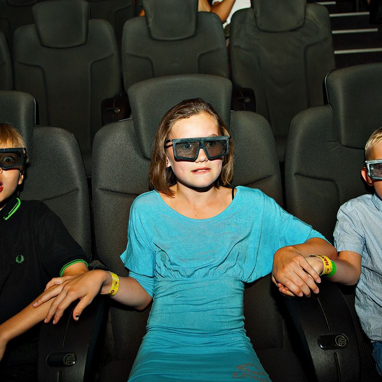 Bakkens 5D biograf får dig att skratta och skrika