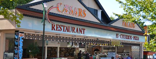 Bakken Cafe Is Fastfood Caesars Palads Grill Isbar Facade