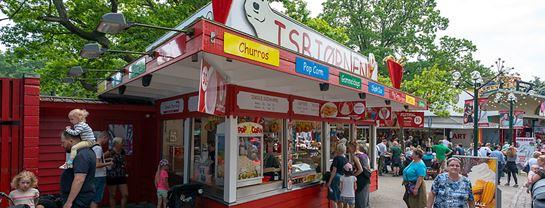 Bakken Cafe Is Fastfood Isbjoernen Facade