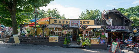 Bakken Cafe Is Fastfood Kaffestuen Facade Aebleskiver