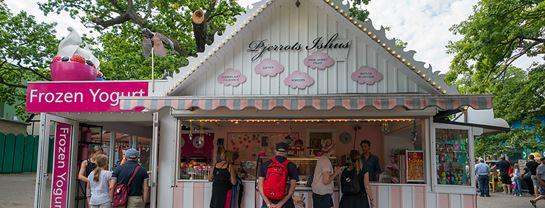 Bakken Cafe Is Fastfood Pjerrots Ishus Facade