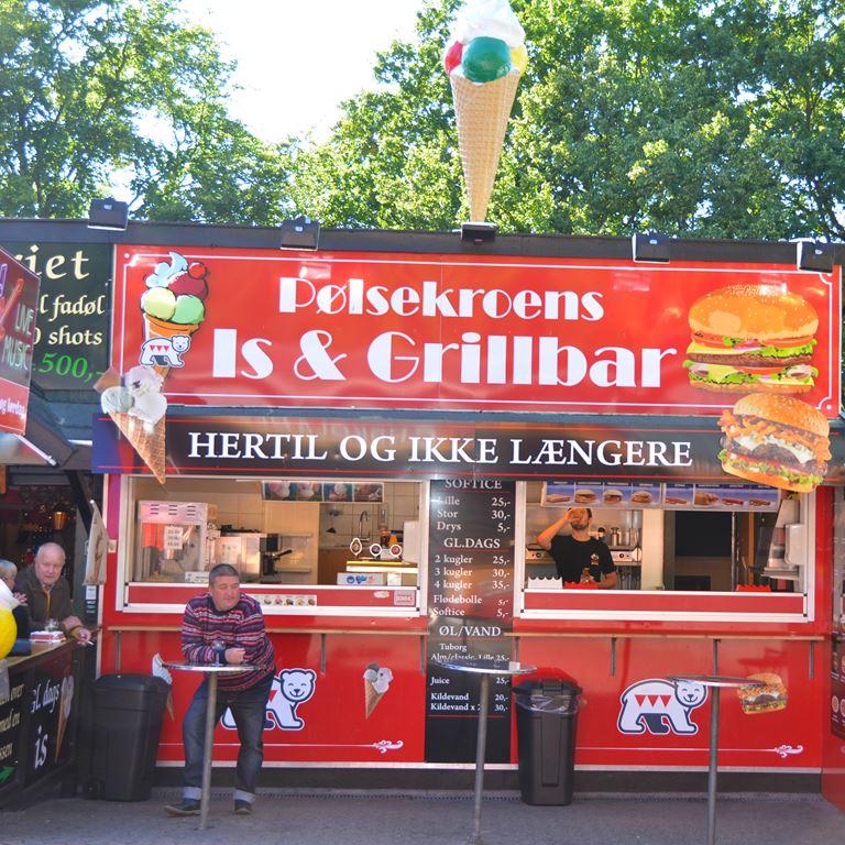 Bakken Cafe Is Fastfood Poelsekroens Grill Facade