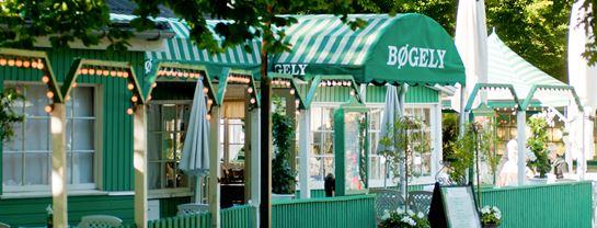 Bakken Restaurant Boegely Facade Belysning