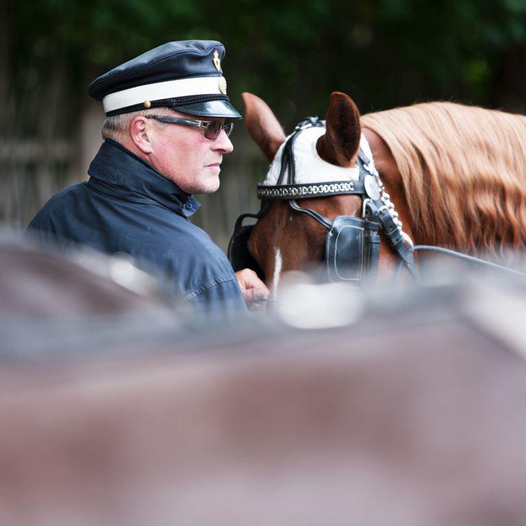 Tag på en hyggelig hestevognstur i den smukke Dyrehave ved Bakken!