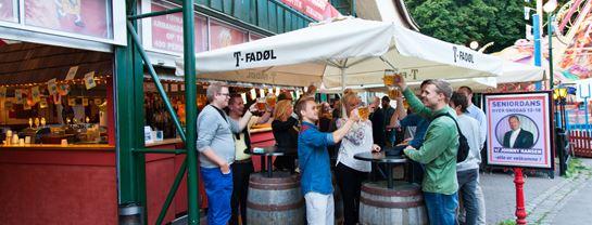 Bakken Pub Bar Ølgod Gruppe Voksen Stemning Øltour Facade
