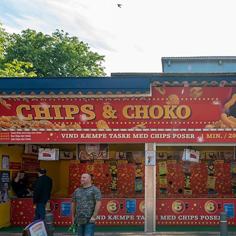 Chips og Choko - Vind masser af chips og chokolade fra Kims