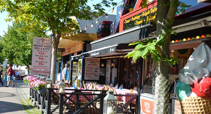 Bakken Restaurant To Soestre Facade Gade