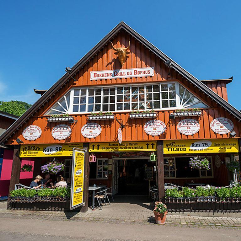 Bakken Restaurant Grill Boefhus Facade