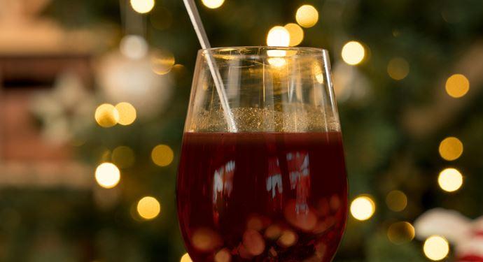 Bakken Mad Drikkevarer Glas Gloegg Roedvin