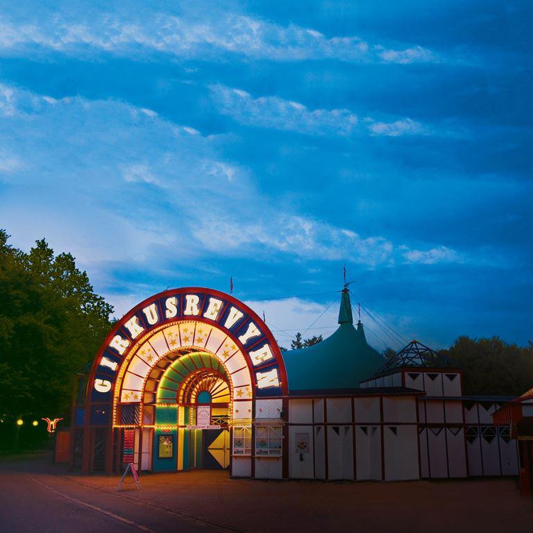 Cirkusrevyen - En skøn aften i teltet på Bakken