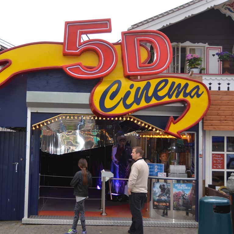 5D Cinema - En sjov forlystelse på Bakken