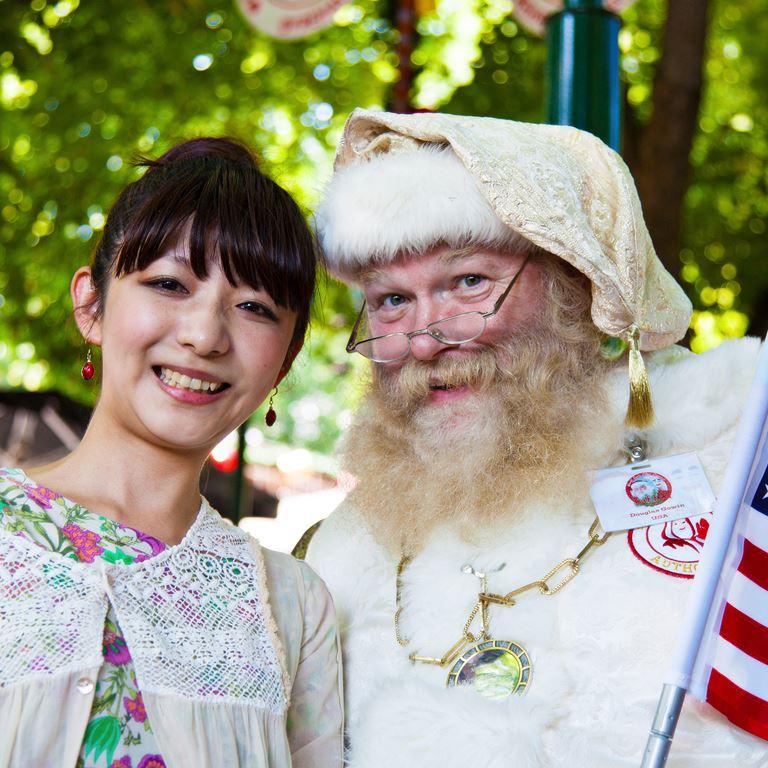 Bakken Underholdning Julemaendenes Verdenskongres Julemand Japan
