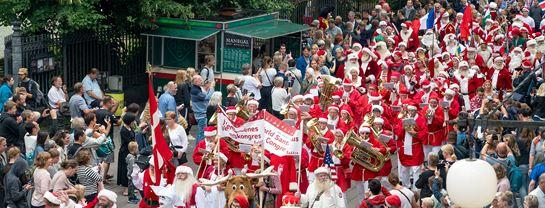 Bakken Underholdning Julemaendenes Verdenskongres Optog