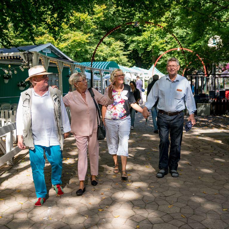 Seniordans på Ølgod - For de lidt ældre gæster på Bakken