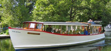 Smuk bådtur på Lyngby sø