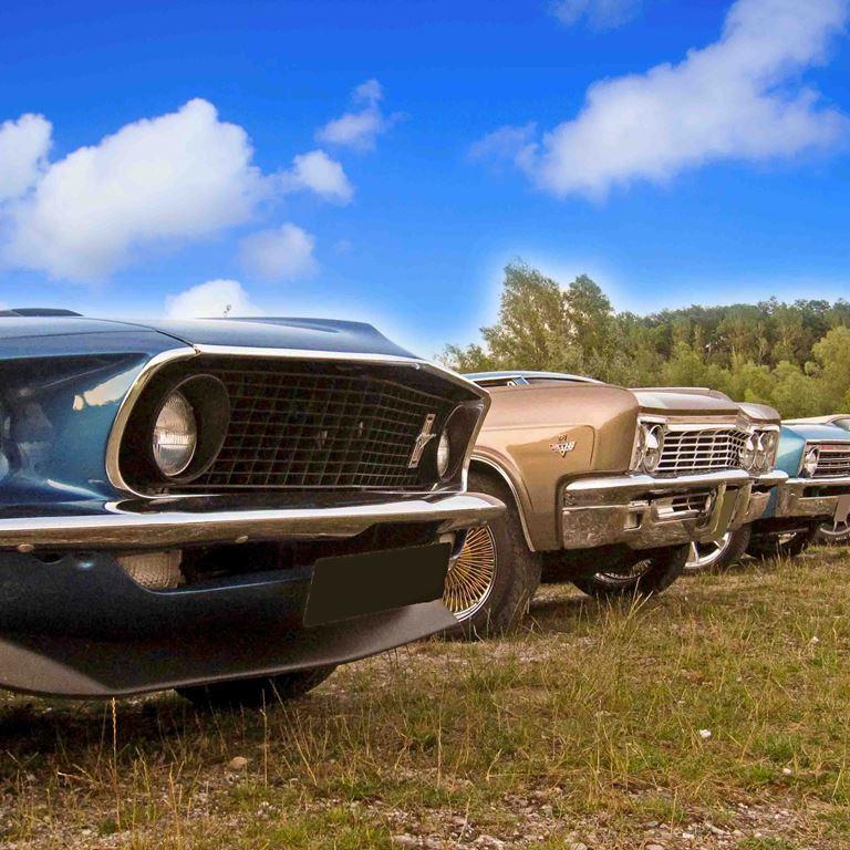 Veteranbiler på Bakken - En dag med klassiske biler