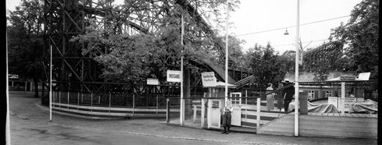 Bakken Copyright Elfelt Rutschebanen 1935 KBH Bymuseum