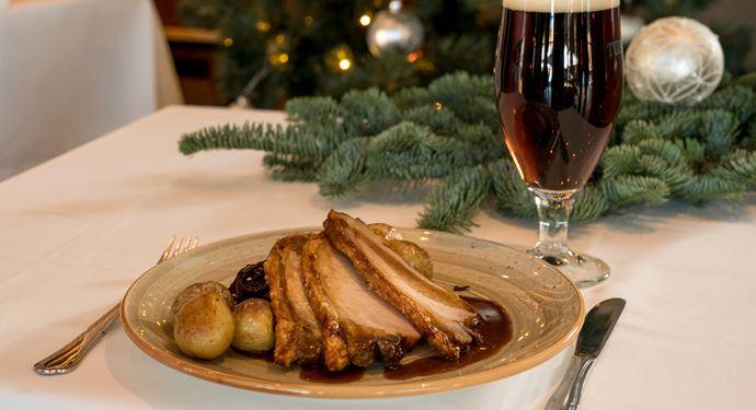 Julbord på Bakkens Grill og Bøfhus
