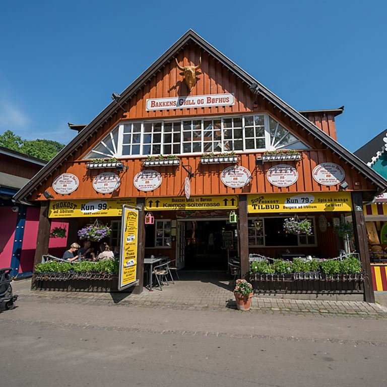 Bakkens Grill og Bøfhus - Lækker grill-buffet og ægte saloon-stemning