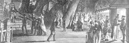Ved Kirsten Piils Kilde 1867 Byhistorisk Samling Lyngby Taarbaek