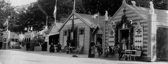 Bakkens Historie Sangerindepavilloner 1882 Københavns Bymuseum