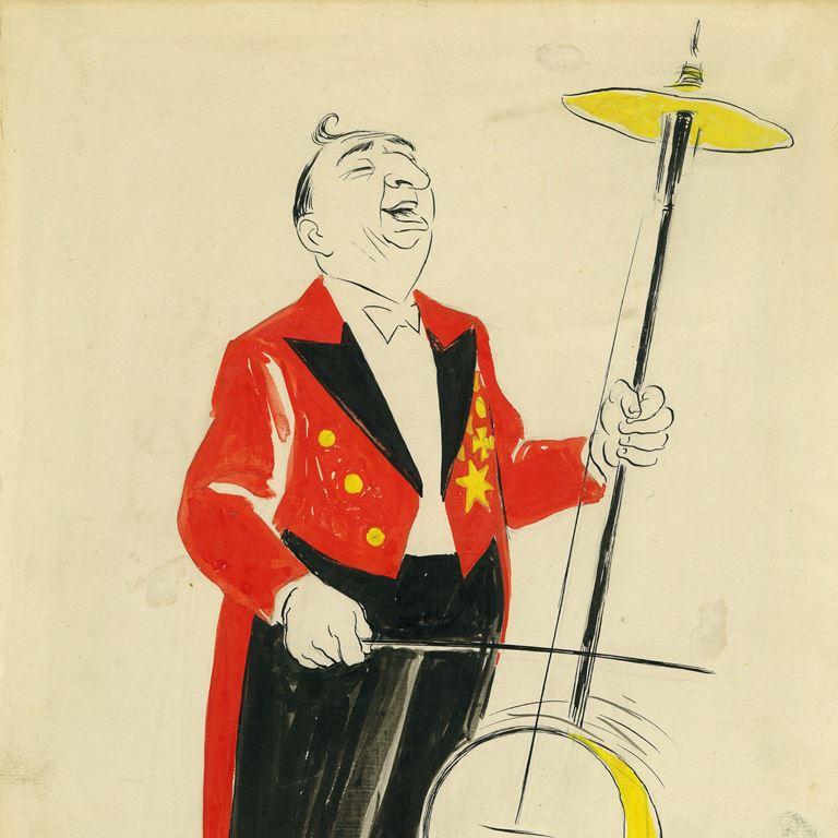 Bakkens Historie Tom Bellinger 1922 Tegning Bakkens Hvile